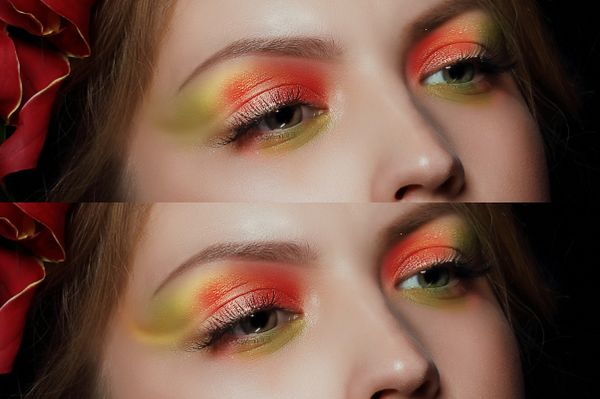 How to Apply Creative Makeup with Photoshop 8